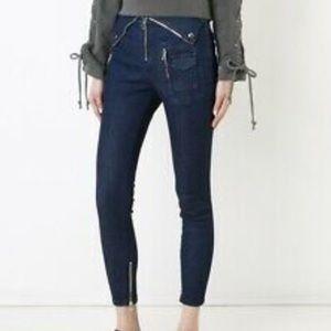 RTA Biker Jeans